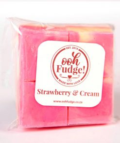 Ooh Fudge Package Strawberry and Cream